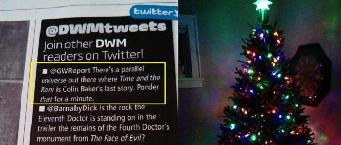 The tweet read 'round the world -- and Charlie's Christmas tree too!