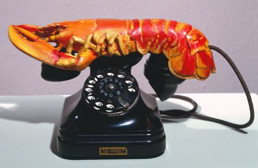 Sadly, with the advent of Skype, the 'lobster phone' lost much of its appeal.